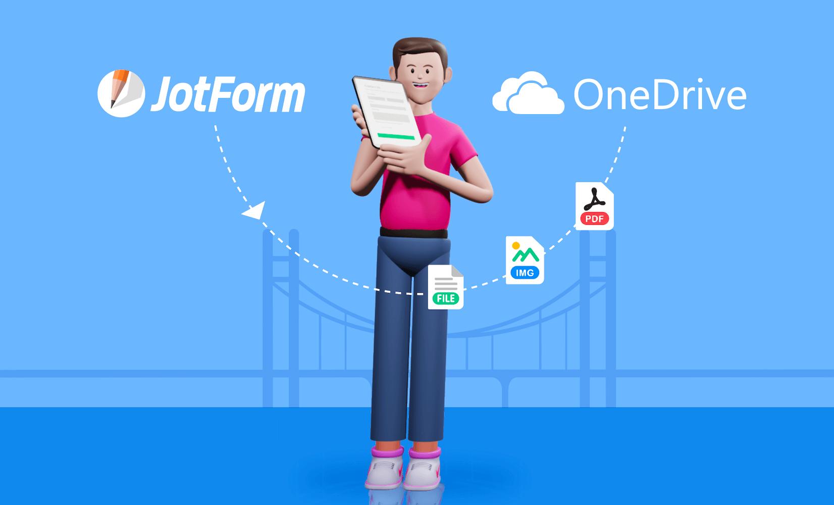 Announcing JotForm's OneDrive integration