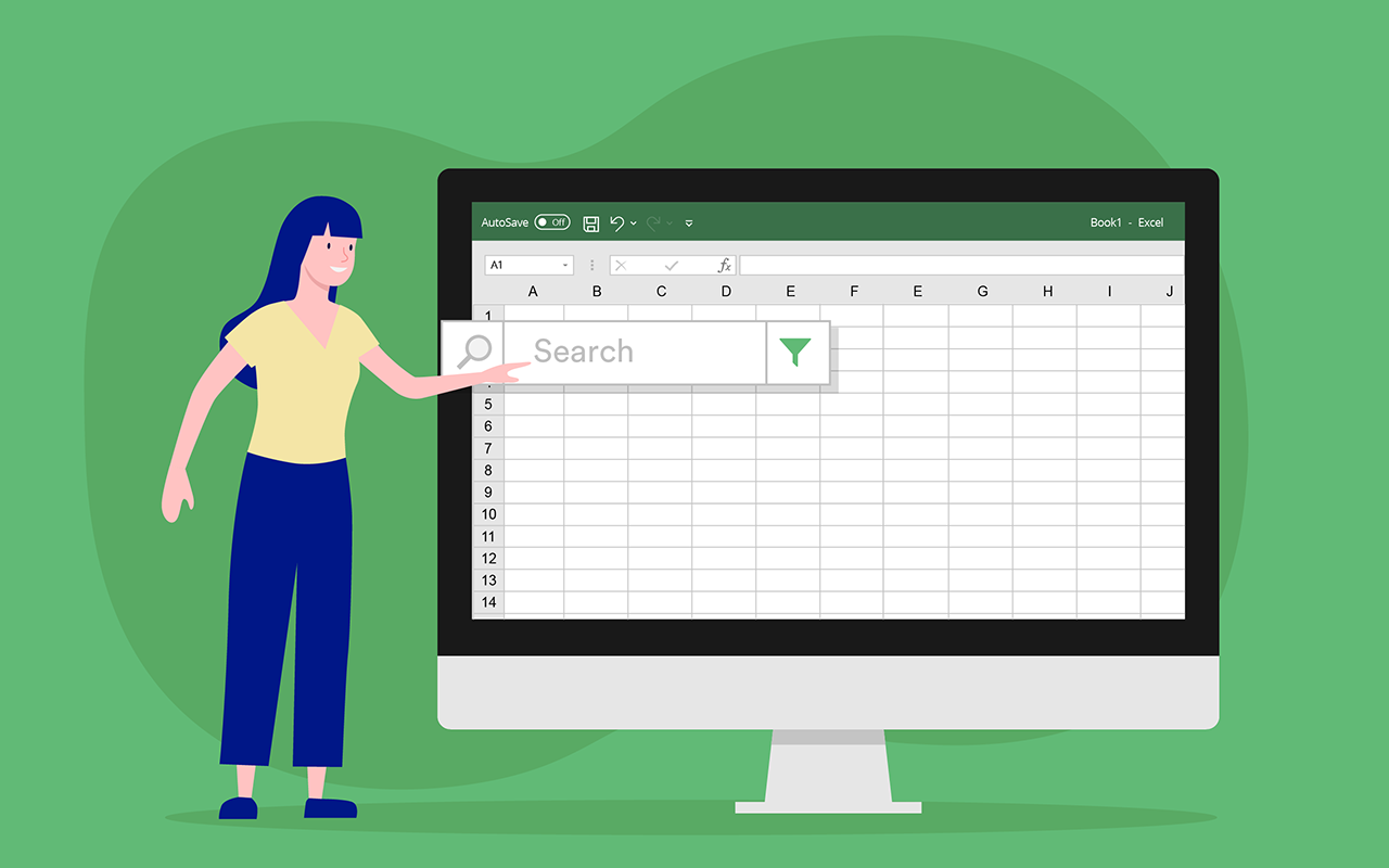 How to create a filtering search box for your Excel data