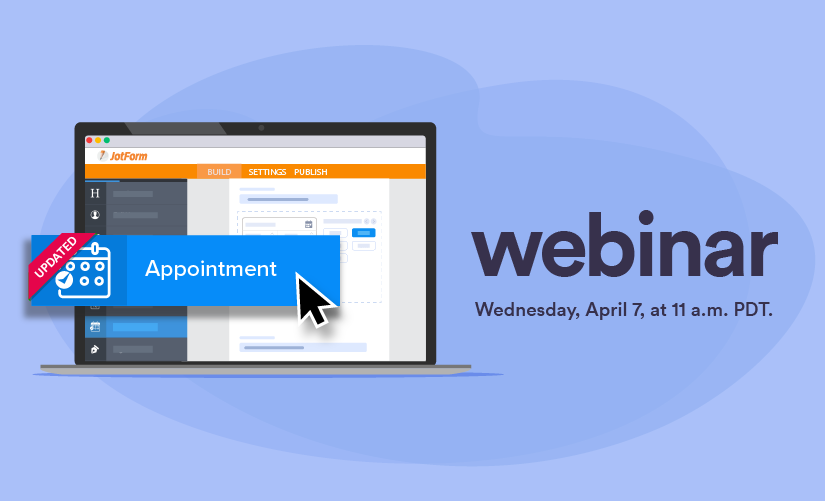 Webinar: Managing appointments with JotForm