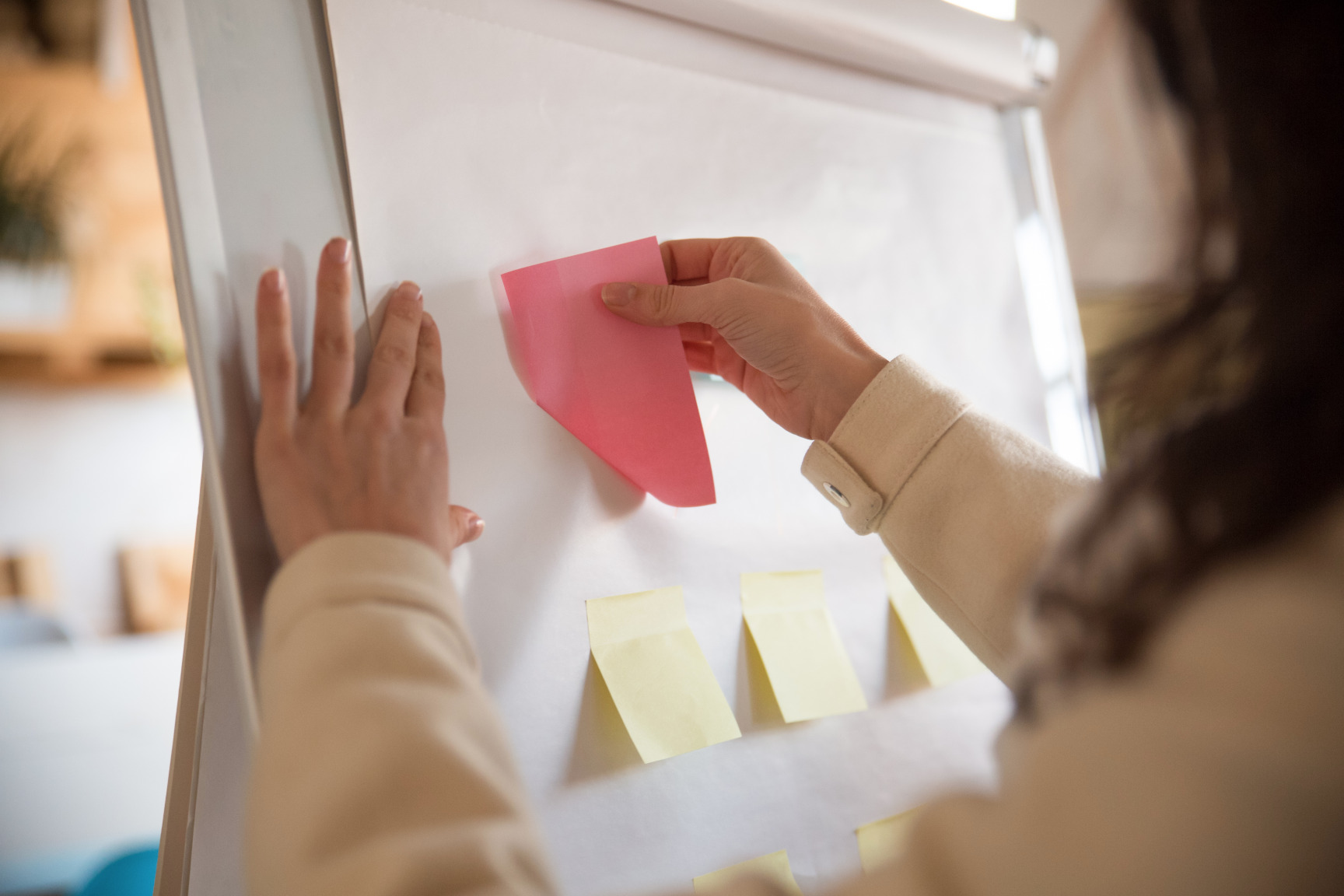 What is a kanban pull system?