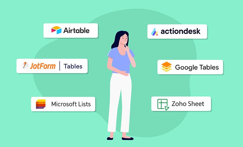 8 Coda alternatives that go beyond traditional spreadsheets