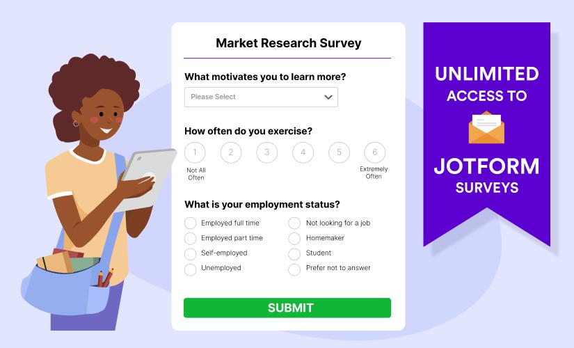 Announcing JotForm's free Student Survey Program