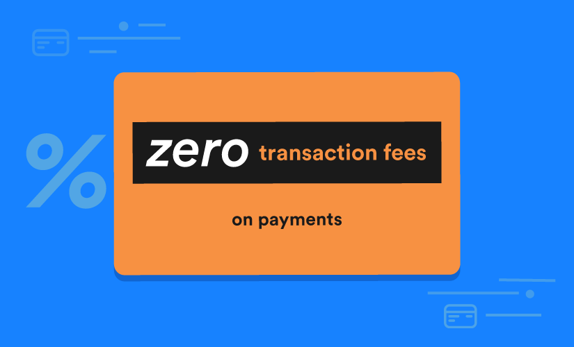 Why JotForm doesn't charge transaction fees on payments