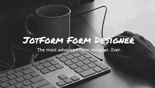 JotForm Form Designer