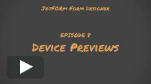 Device Previews Tutorial