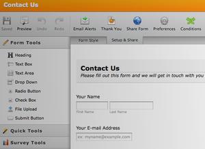 Screenshot - Form Builder