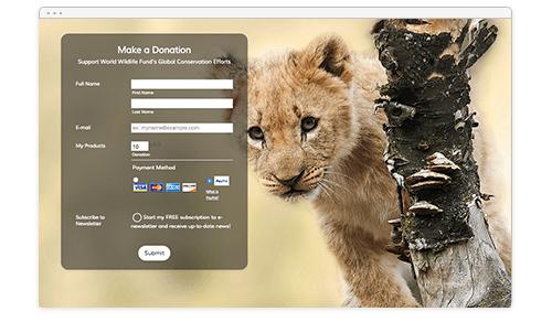 Wildlife Foundation Theme Screenshot