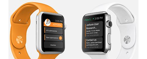 JotForm's Brand New Apple Watch App Released!