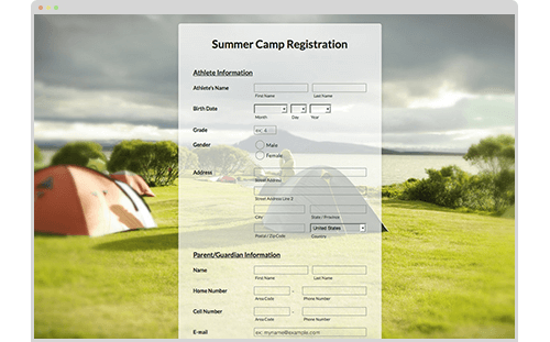 Visual: Summer Camp Theme